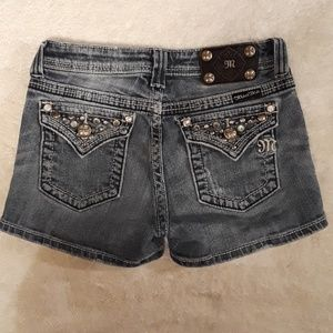 Miss Me Jean Shorts Girls Size 14